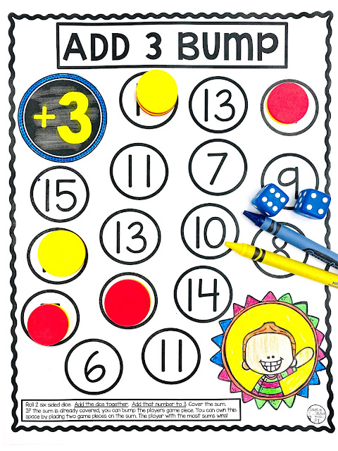 Ways to practice addition facts for instant recall and mastery for 1st Grade math and 2nd Grade math