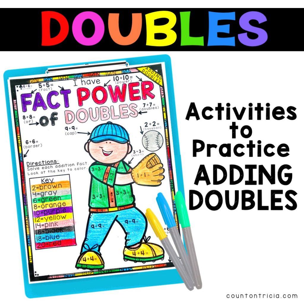 Activities to Practice Adding Doubles