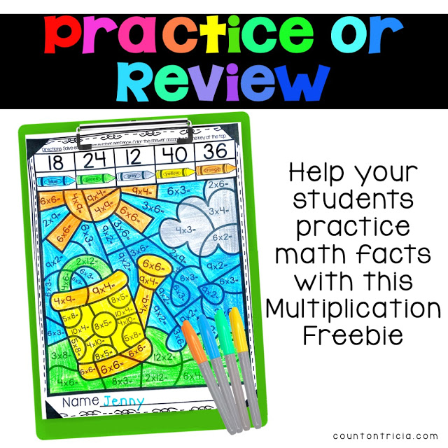 Spring Math Activities for the Upper Elementary Classroom
