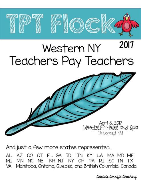 TPT Flock 2017 Teachers Pay Teachers WNY TPT Team at Woodcliff Hotel and Spa Fairport New York