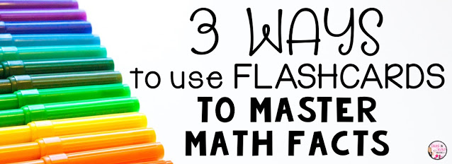 3 Ways to Use Flashcards to Master Math Facts