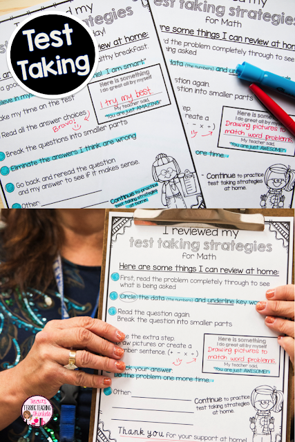 Here are five different tips for easy and effective ways to communicate with parents and families. Click through to see how you can bring reading and math skills home for parents to reinforce. Help parents better understand and prepare their students for test prep, and get a few other ideas to keep lines of communication open. These are great ideas for the Kindergarten, 1st, 2nd, 3rd, or 4th grade classroom. Click through for all the details! {K, first, second, third, fourth graders}